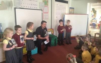 A Visit From Fireman Bri!