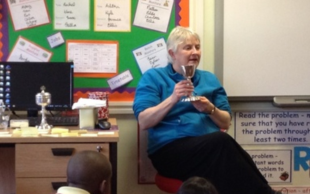 Reverend Meg visits Year 6