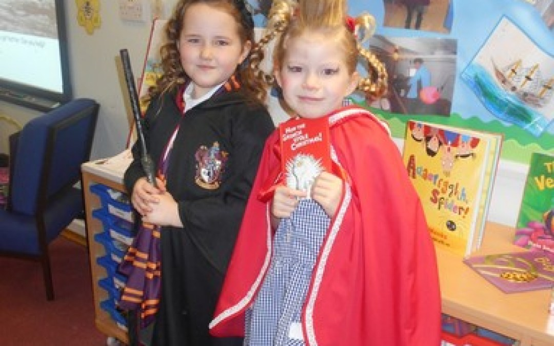World Book Day in Year 2!
