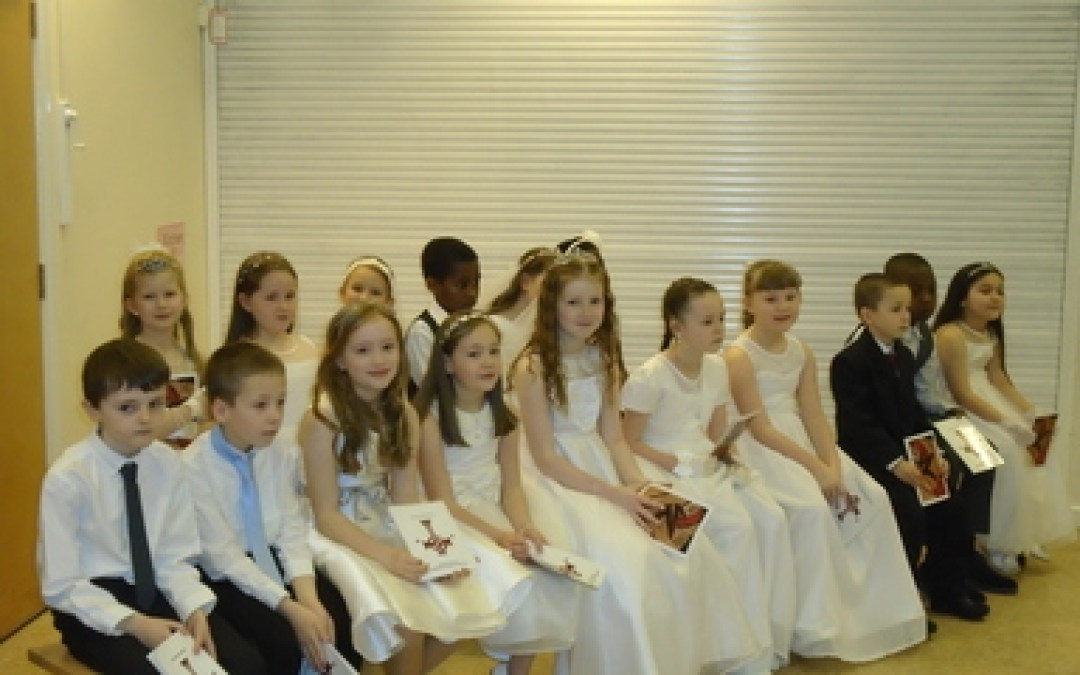 Year 3 First Entry to Communion