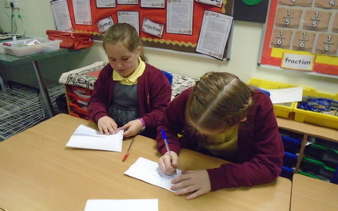 Letter Writing to Mrs Brown!