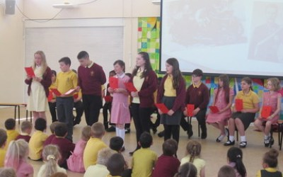 Year 6 Remembrance Assembly