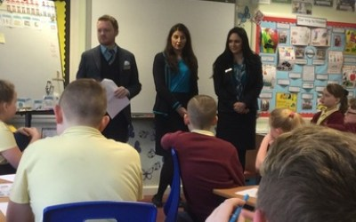 Barclays Bank visit Year 6