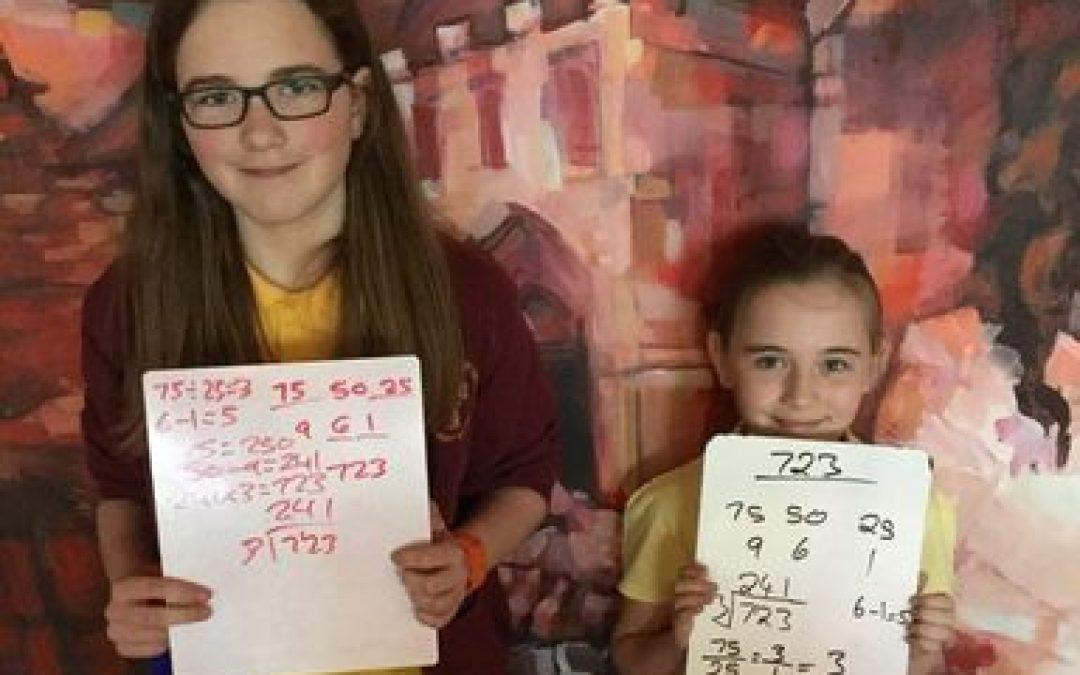 Year 6 Countdown maths