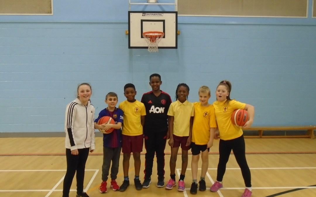Basketball at Kingsmeadow School