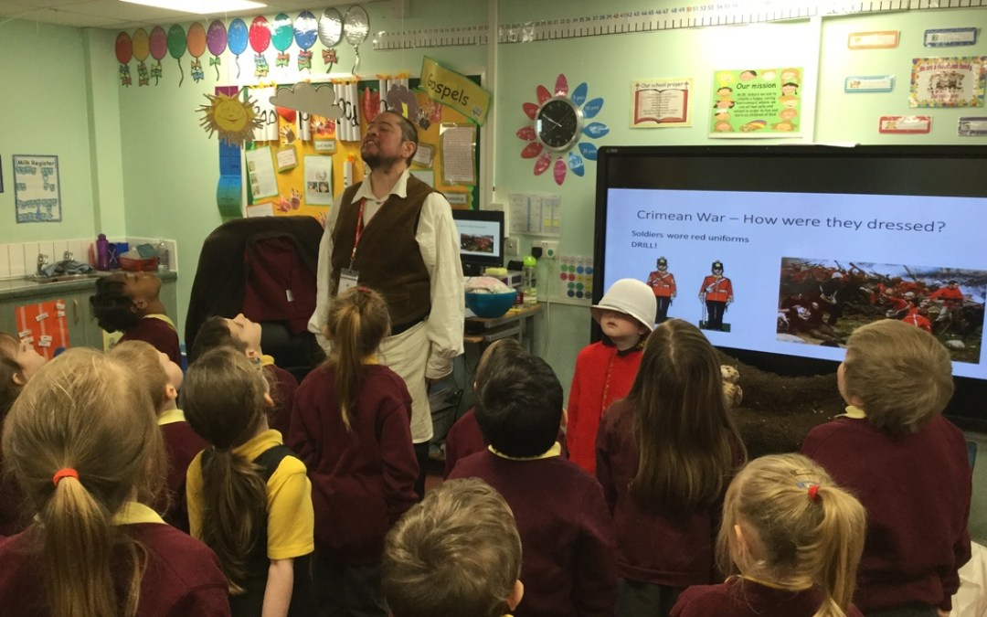 Year 1 Meet 'That History Bloke'