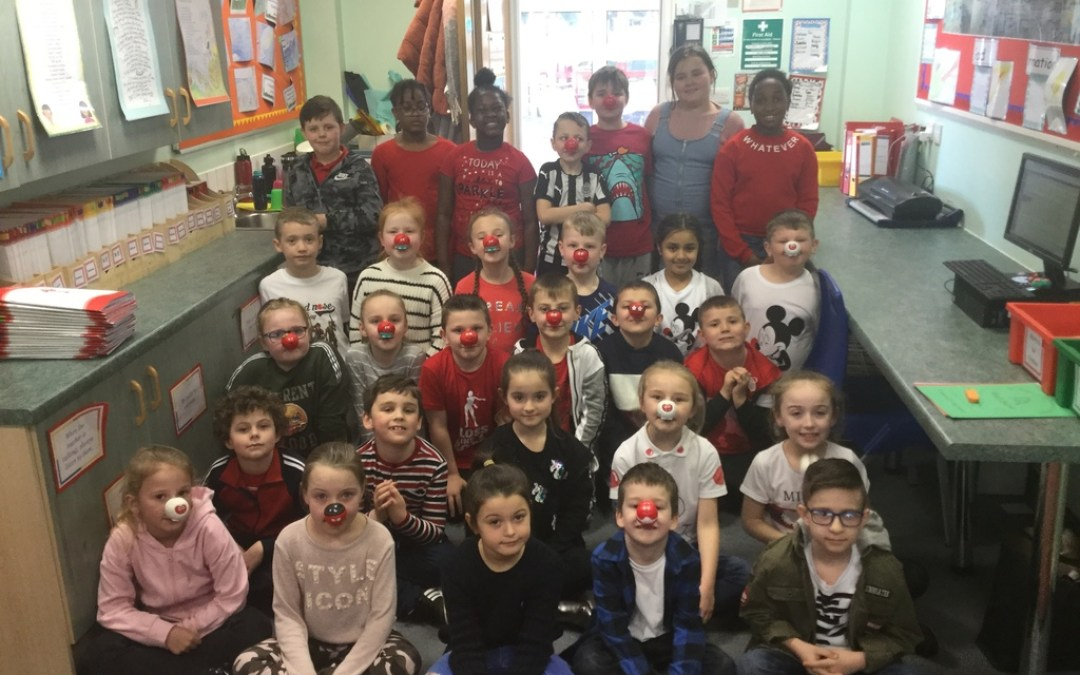 Red Nose Day in Year 3