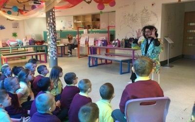 Year 1 and 2 visit Seven Stories