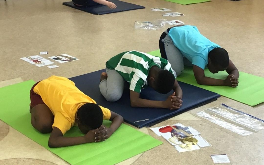 Yoga in Year 6