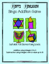 hanukah bingo integers to 5