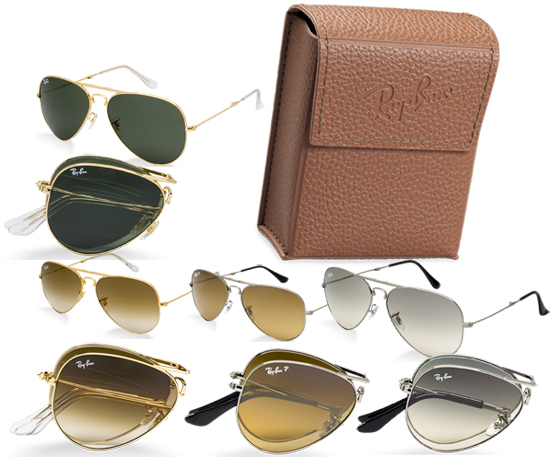 ray ban aviator sunglasses folding