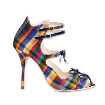 Rainbow Plaid - $595