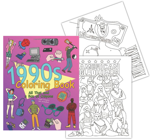 the-1990s-coloring-book