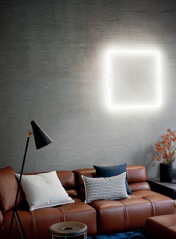 square-neon-light