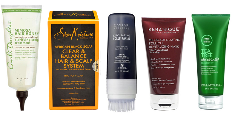 scalp treatments and products