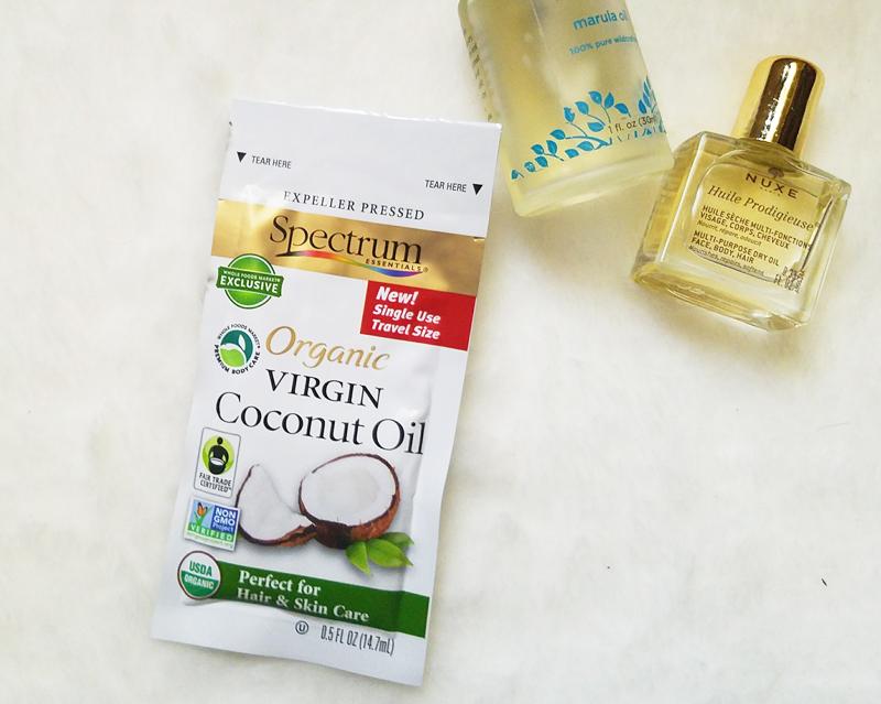 beauty oils on the go