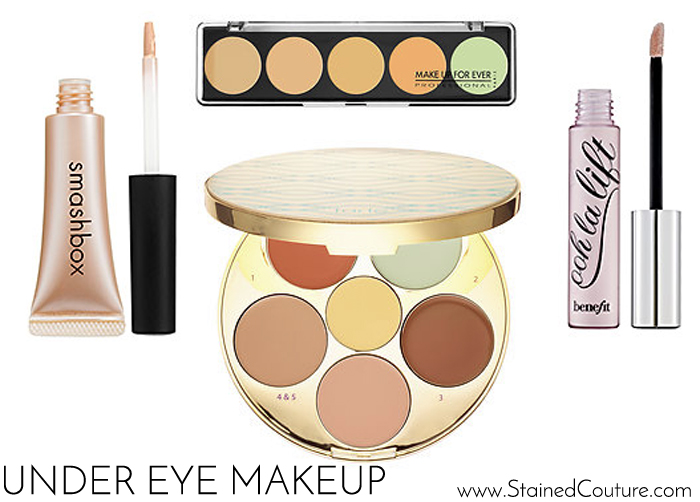 dark under eyes make-up