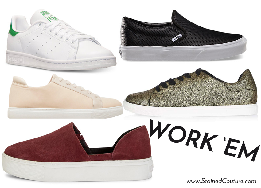 office friendly sneakers