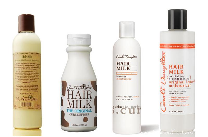 carol's daughter hair milk bottles