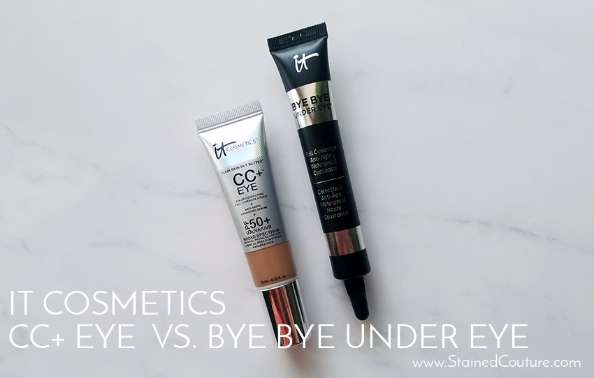 it cosmetics under eye concealers comparison