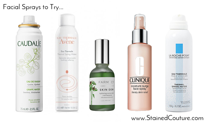 facial sprays to try