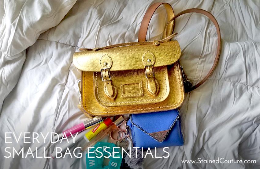 small bag essentials for everyday