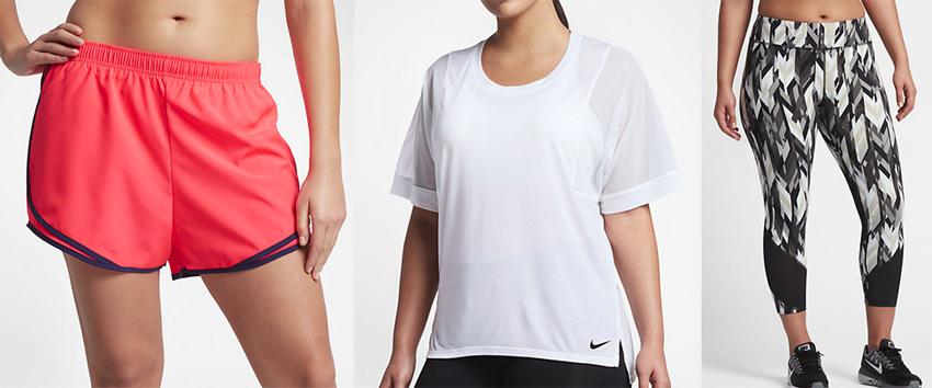plus size athletic wear Nike