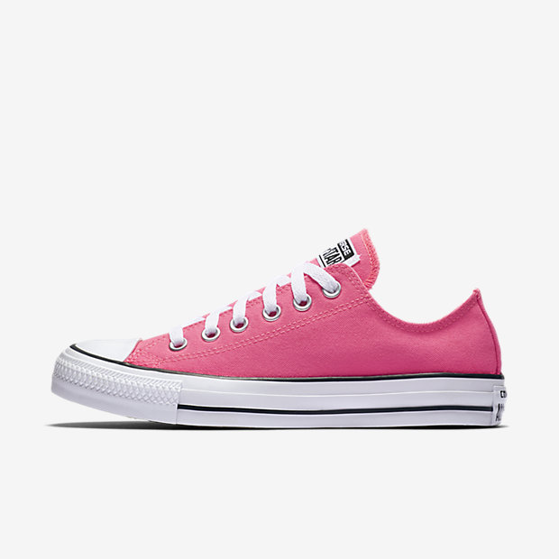 converse pink sneakers