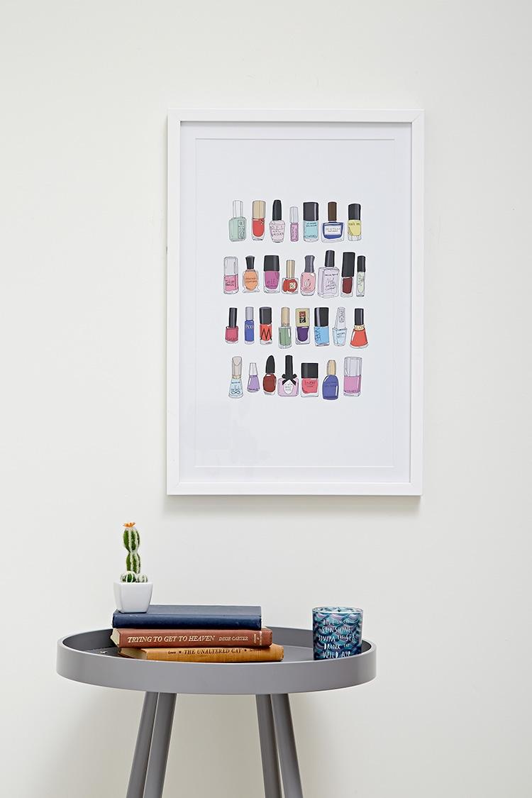 nail polish artwork