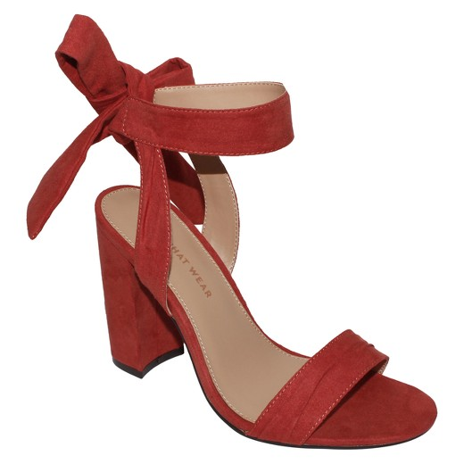 need from target block heel strap sandals