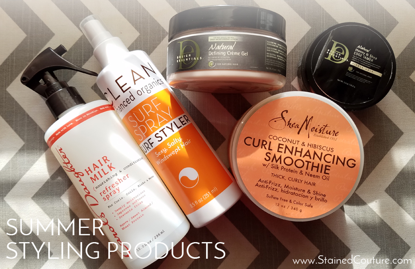 summer styling products 2017