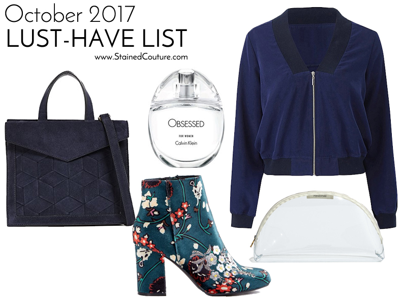 Lust-Have List October 2017