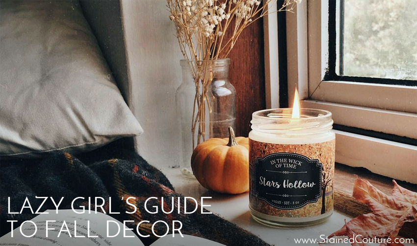 fall decor for the lazy girl