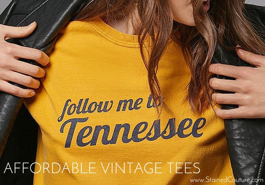 Affordable Vintage Tees / STAINED COUTURE
