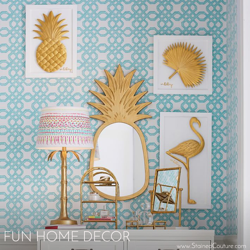 Fun Home Decor | STAINED COUTURE