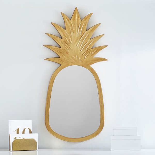 Lilly Pulitzer Pineapple Mirror | PB Teen