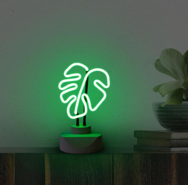 Leaf Neon Lamp | THE OLIVER GAL ARTIST CO.