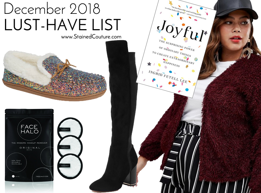 LUST-HAVE LIST: December 2018 | STAINED COUTURE