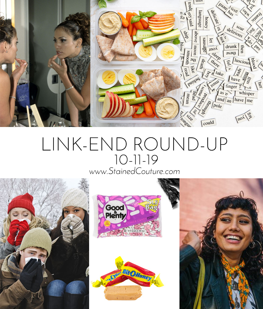 LINK-END ROUND-UP: October 11, 2019 | STAINED COUTURE