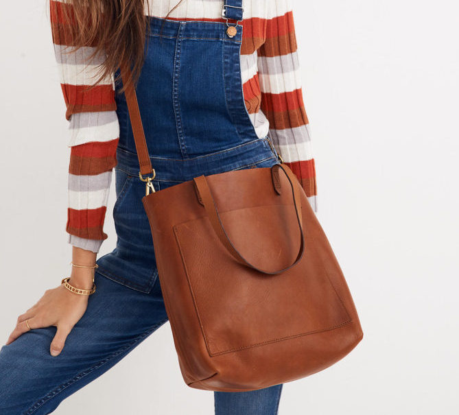 NEW WORK BAGS: Madewell Medium Transport Tote | STAINED COUTURE