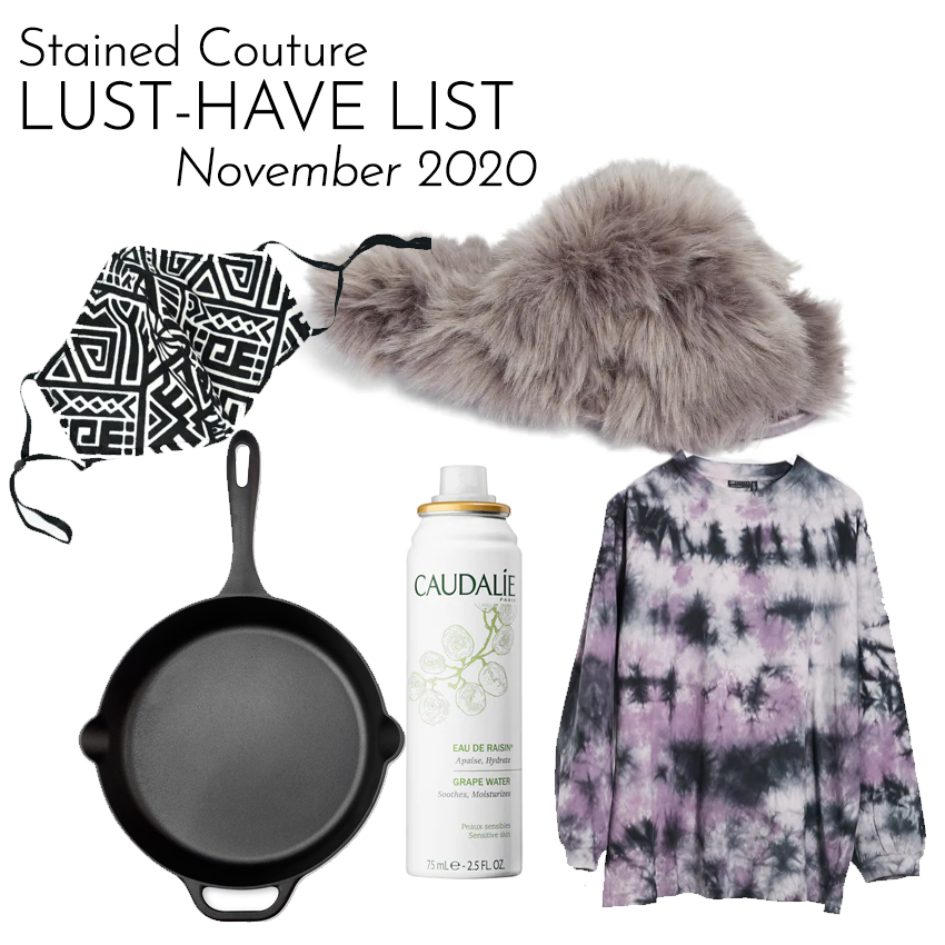 LUST-HAVE LIST: November 2020 | STAINED COUTURE