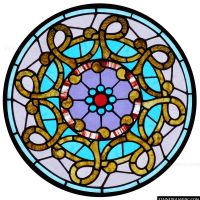 Celtic Stained Glass - About Stained Glass