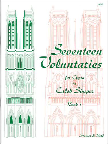 Simper, Caleb: Seventeen Voluntaries. Book 1