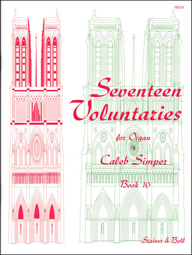 Simper, Caleb: Seventeen Voluntaries. Book 10