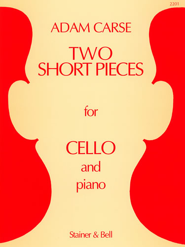 Carse, Adam: Two Short Pieces For Cello And Piano