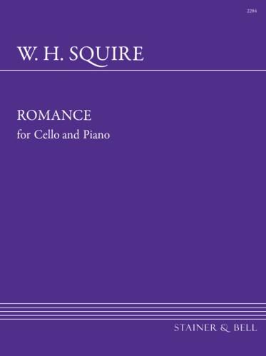 Squire, William Henry: Romance For Cello And Piano