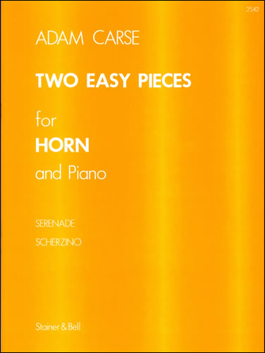 Carse, Adam: Two Easy Pieces For Horn And Piano