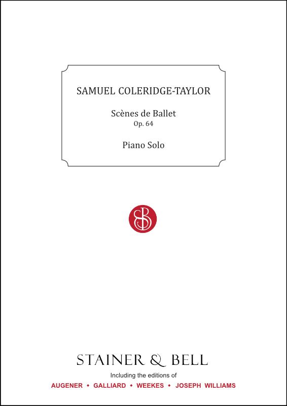 Coleridge-Taylor, Samuel: Scènes De Ballet, Op. 64. Piano Solo