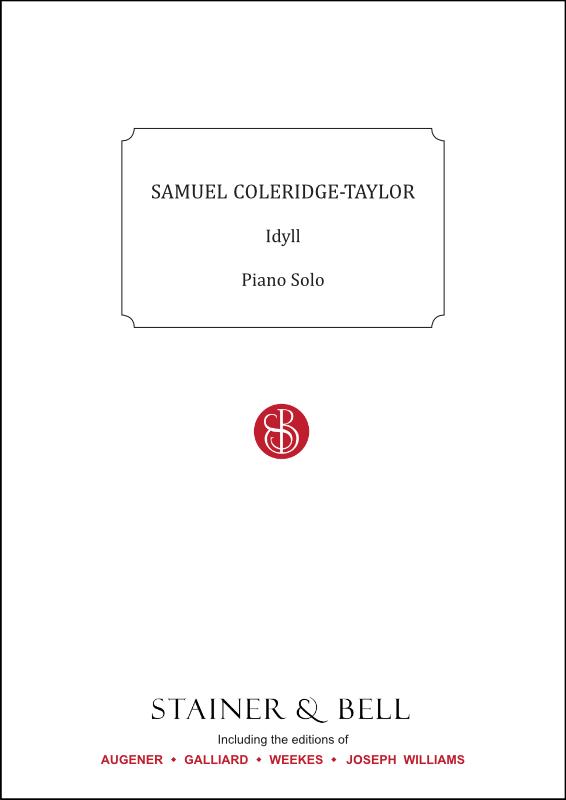 Coleridge-Taylor, Samuel: Idyll. Piano Solo