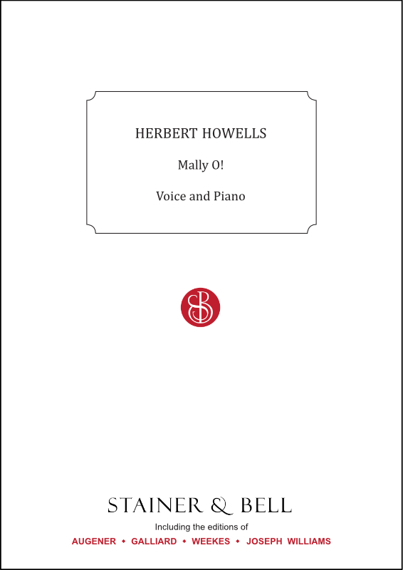 Howells, Herbert: Mally O!. Voice And Piano